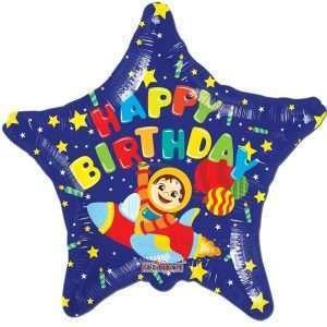 Globo Mylar Happy Birthday Astronauta