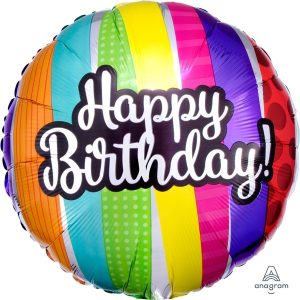 Globo Mylat Happy Birthday Multicolor