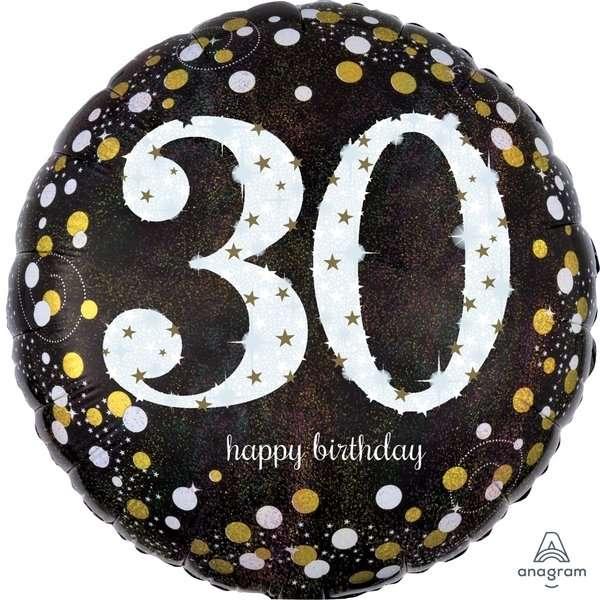 Globo Mylar 30 Birthday
