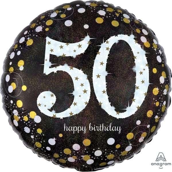 Globo Mylar 50 Birthday