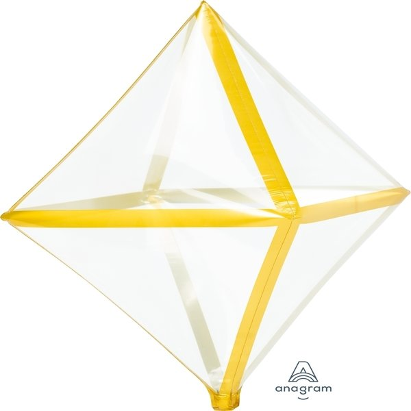 Globo Mylar Anglez Transparente