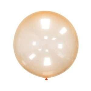 Globo Gigante Burbuja Naranja