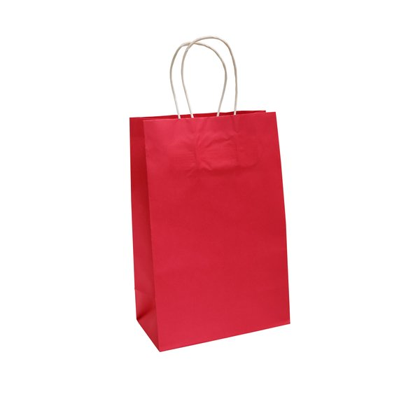 Bolsa de Papel Rosada Neon
