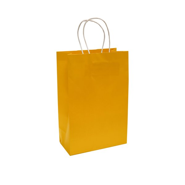 Bolsa de Papel Amarilla