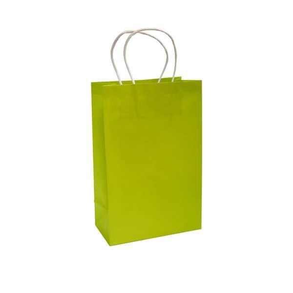 Bolsa de Papel Verde Lima