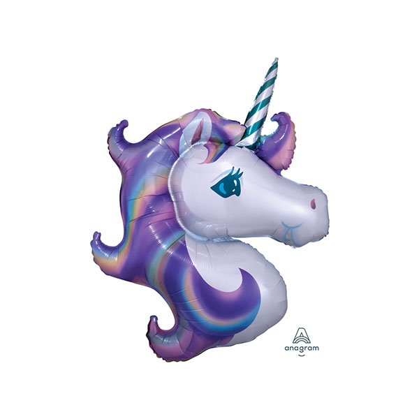 Globo Mylar Unicornio Violeta