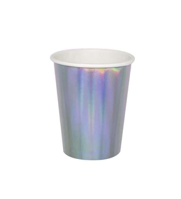 Vasos de Carton Iridiscentes